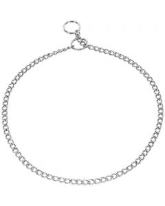 Collar, round links - Steel chrome-plated, 1.35 mm