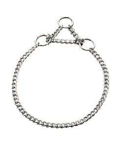 Collar with limited traction - Steel chrome-plated, 1.5 mm