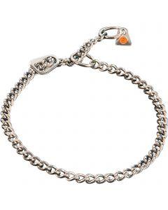 Halskette mit ULTRA-Platte - Edelstahl Rostfrei, 2,5 mm