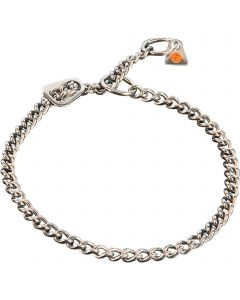 Collar with ULTRA-Plate - Stainless steel, 2.5 mm