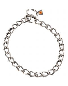 Collar, short links - Stainless steel, 4.0 mm