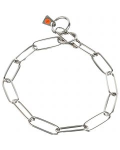 Collar, long links - Stainless steel 3.0 mm