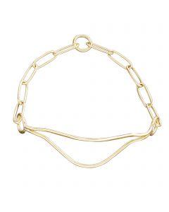 Show Collar - Standard - brass polished
