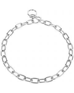 Halskette, medium - Stahl verchromt, 3,0 mm
