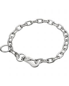 Collar, adjustable - with SPRENGER hook - Steel chrome-plated