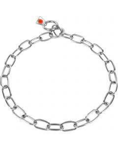 Collar, medium - Stainless steel, 3.0 mm