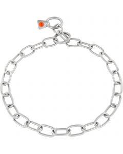 Collar, medium - Stainless steel matt, 3.0 mm