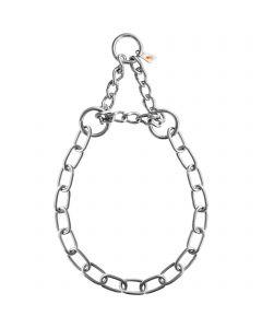 Halskette, medium, mit Durchzugskette - Edelstahl Rostfrei, 3,0 mm