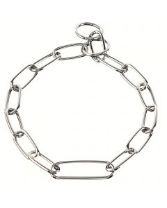 Collar, extra long link - Steel chrome plated, 4.0 mm