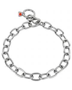 Collar, extra strong - Stainless steel matt, 4.0 mm