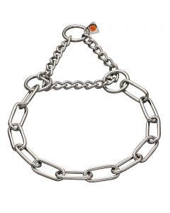 Halskette mit Zugbegrenzung - Edelstahl Rostfrei, 4,0 mm