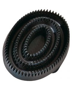 Curry comb - rubber, oval
