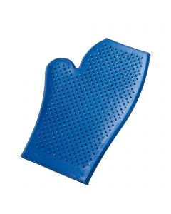 Grooming glove, plastic, colours assorted