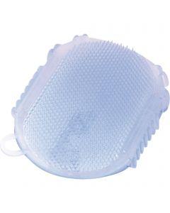 Gel-Massagehandschuh - Kunststoff, pastell blau