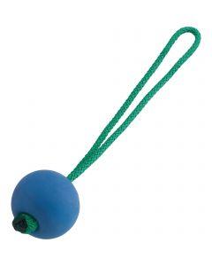 Soft Rubber Ball, blue, Ø 65 mm