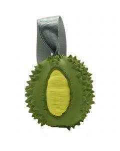 """Hundespielzeug FRUIT CHALLENGE - """"Durian"""", grün-gelb (M)"""