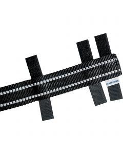 Reflektierende Verkleidung für ULTRA-PLUS Dressurhalsketten - Schwarz