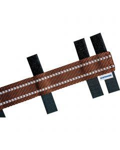 Reflektierende Verkleidung für ULTRA-PLUS Dressurhalsketten - Braun