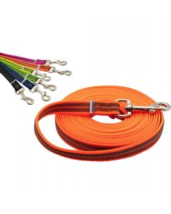 Rubberized tracking-leash without handle
