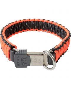 PARACORD Collar - reflecting, orange