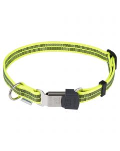 Adjustable Collar - reflecting, yellow