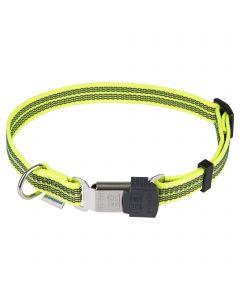 Verstellbares Halsband - reflektierend, gelb