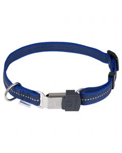Verstellbares Halsband - reflektierend, blau