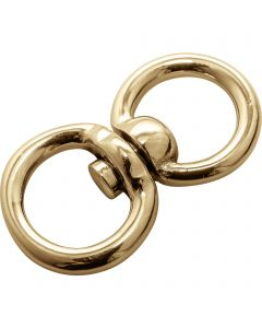 Double swivel - brass