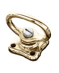 Double swivel - brass polished