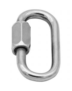 Screw link - Stainless steel, 4 mm