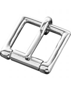 Buckle with roller - Stainless steel