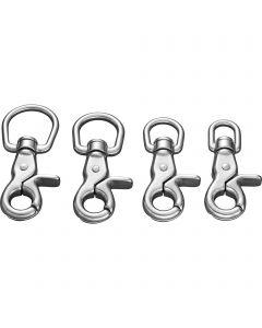 Scissor snap hook - Stainless steel