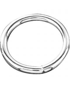 Ring - Stahl vernickelt