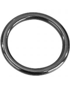 Ring - Edelstahl Rostfrei schwarz