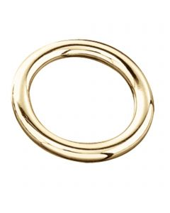 Ring - brass polished